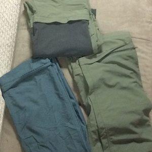 MEC Zip Off Pants Shorts CAMP X 3, Sz 12-14 Youth